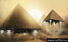 Ovnis en el interior de piramides