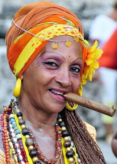 The Smiling Lady of Havana - Cuba by M. Khatib, via Flickr