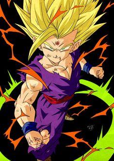 Dragon Ball Z, Arkane Studios, Ssj3, Db Z, Akira, Manga Anime, Teen, Animation, Artwork