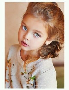Anna Pavaga was born on November 2009 in Saint Petersburg, Russia. Beautiful Little Girls, Cute Little Girls, Beautiful Children, Beautiful Eyes, Beautiful Babies, Cute Kids, Cute Babies, Cute Baby Girl Pictures, Baby Girl Images