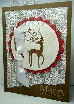 Handmade Christmas Cards | AlyStamps.com