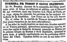 toros amor y gloria | THE AMERICAN STAR_25.09.1847_p. 7_CORRIDA DE TOROS