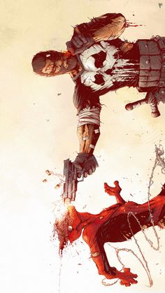 Punisher kills Spider-Man by Tonton Revolver. - Living life one comic book at a time.
