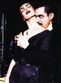 Vampira & Bela Lugosi 1956