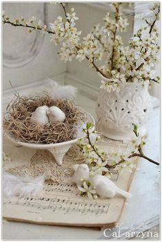 Chic Shabby and French Spring Whites