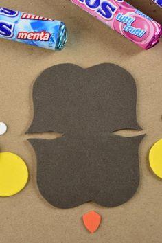 Cómo hacer bolsitas de dulces originales Owl Crafts, Diy And Crafts, Crafts For Kids, Fiesta Decorations, Ramadan Decorations, Homemade Gifts, Diy Gifts, Halloween Crafts, Christmas Crafts
