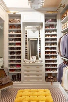 I will transform my closet into this!
