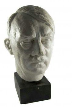 a bust of Adolf Hitler