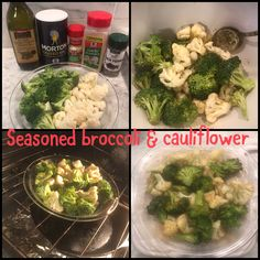 Seasoned broccoli & cauliflower Broccoli Cauliflower, Allrecipes, Love Food, Seasons, Seasons Of The Year