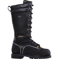 """Men's Lacrosse 16"""" Longwall Met Guard Mining Boots LaCrosse. $199.00"""