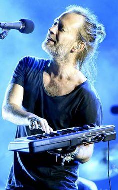 Thom Yorke - #Radiohead Austin City Limits Music Festival at Zilker Park on September 30, 2016 in Austin, Texas.