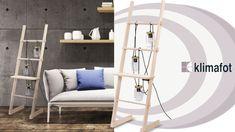 Μια άλλη άποψη για την χρήση σκάλας!! Επιδαπέδιο φωτιστικό σκάλα από ξύλο και γυαλί, μόνο εδώ! #Klimafot  #Esoterikos_fotismos #design Sweet Home, Loft, Furniture, Home Decor, Decoration Home, House Beautiful, Room Decor, Lofts, Home Furnishings