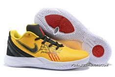"Nike Kyrie Flytrap 2 ""Bruce Lee"" Tour Yellow/Black-White For Sale Jordan Shoes For Sale, Nike Shoes For Sale, Shoe Sale, Puma Suede, Bruce Lee, Yellow Black, Black And White, Nike Kyrie, Pumas Shoes"