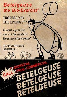 "~Hey Gorgeous~ vixensandmonsters: "" Beetlejuice (1988) dir. Tim Burton """