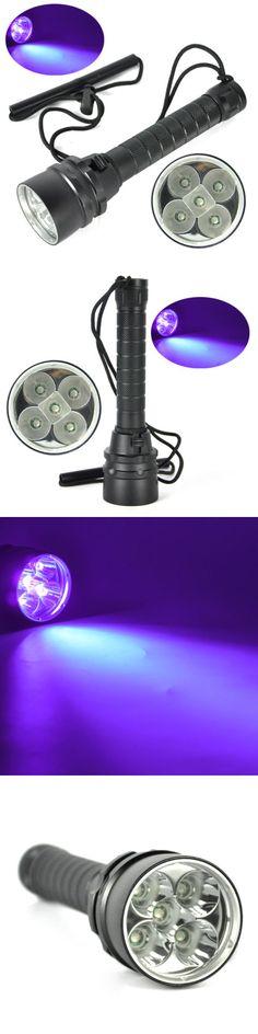 Lights 29575: 25W 390Nm Uv Scuba 5 X Led Diving Flashlight Torch Lamp 2X18650 Underwater 100M -> BUY IT NOW ONLY: $35.99 on eBay!