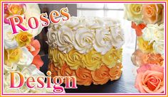 Cake Design - Comment faire des roses / How to do roses on a cake - Carl is cooking -> youtube https://youtu.be/II8yg28UJVc