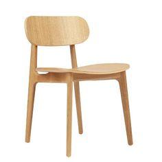 Chaise PLC, Chaise en chêne massif ou hêtre de Pearson Lloyd pour Modus