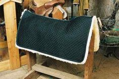 Horse Blanket: Western style Black Merino Sheepskin Completely Lined made by Engel. Tack $169.95| eBay