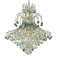Brighten up your home with Elegant Lighting ... http://housesort.com/products/elegant-lighting-toureg-chrome-fifteen-light-25-inch-chandelier-with-royal-cut-clear-crystal?utm_campaign=social_autopilot&utm_source=pin&utm_medium=pin #Luxury
