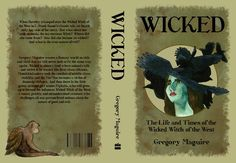 wicked+novel+illustrations | ... wicked s book cover for my past illustrating literature class wicked