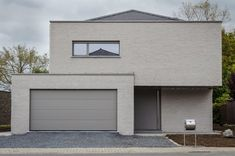 architectenvennootschap arch_ID — Verbouwing hoeve tot ééngezinswoning Bungalow, Modern Architecture House, Construction, Interior Design Living Room, Future House, Building A House, New Homes, Open Trap, House Styles