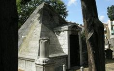 Jewish Cemetery Pyramid in Florence http://blog.artviva.com/2013/12/02/project-pyramid-the-rolling-pointy-hills-of-tuscany/