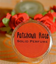Patchouli Rose Solid Perfume by daisycakessoap on Etsy