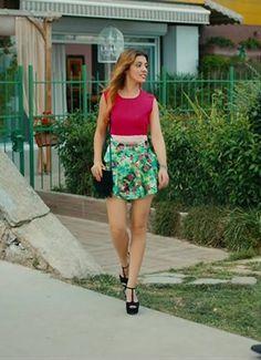 Kaçak Gelinler, 5. Bölüm'de Şebnem karakterinin giydiği Ayakkabı - Tvdegoral.com