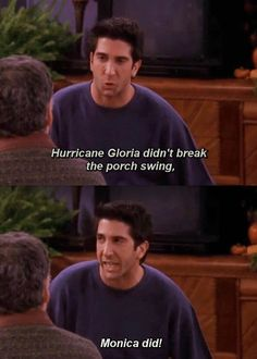 """When Ross and Monica kept revealing childhood secrets: 