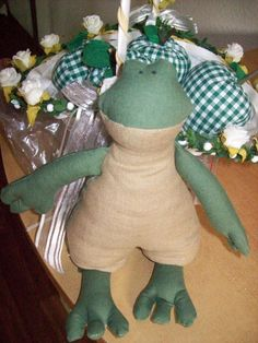 Frog handmade by Jane Ha