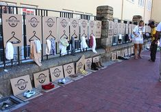 Brilliant !A Pop-Up Street Store That Offers Clothes To The Homeless - DesignTAXI.com