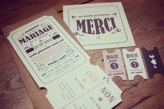La jolie papeterie de Vinciane Graphic | Crédits :  Vinciane Graphic  | Donne-moi ta main - Blog mariage