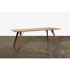 Theo Dining Table in Fumed Oak by Nuevo - HGDA425