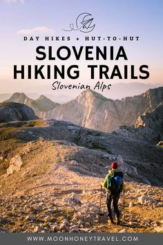 Discover the best hikes in Slovenia for every experience level. Guide includes hikes in the Julian Alps, Kamnik Alps, and Karawanks. #slovenia #slovenianalps #trekking #hiking #triglavnationalpark #julianalps #alps Hiking Routes, Hiking Tips, Adventure World, Adventure Travel, Best Places To Camp, Places To Visit, Slovenia Travel, Julian Alps, Mountain Hiking