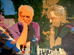 Die Schachspieler vom Herrngarten.