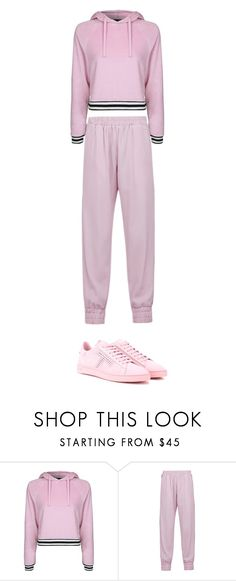 """Без названия #1376"" by gazieva-dinara ❤ liked on Polyvore featuring Topshop, Mother of Pearl and Tod's"