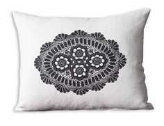 cushion Crochet Pillow, Soft Furnishings, Cushions, Tapestry, Throw Pillows, Knitting, Cover, Magpie, Nooks