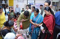 Manglaluru: MP Nalin Kumar Kateel inaugurates second phase 'Mission Indradhanush 2015'