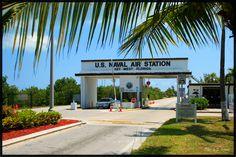 NAS Key West, Florida Where I was stationed