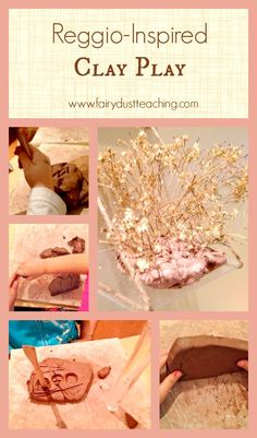 Amazing Reggio-inspired clay play ideas with objectives!
