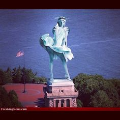 Hurricane Sandy and the Statue of Liberty