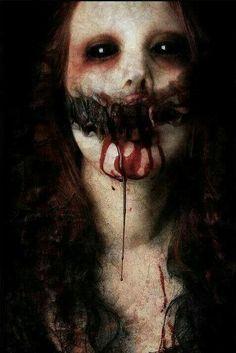 The horror! Rpg Horror, Creepy Horror, Creepy Art, Horror Art, Creepy Stuff, Creepy Things, 3d Fantasy, Dark Fantasy, Maquillage Halloween