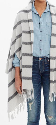 Cape scarf