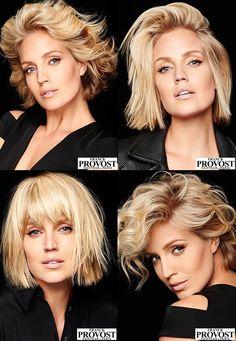 Haircuts for medium hair 2017 - 80 pictures - New items Haircuts For Medium Hair, Short Hair Cuts, Medium Hair Styles, Curly Hair Styles, Short Styles, Mid Length Hair, Great Hair, Hair Today, Hair Dos