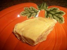 Homemade pumpkin pie fudge!