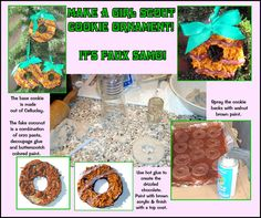 CyndiLou's Graphic Crafts!: Fake Girl Scout Cookie O)rnaments