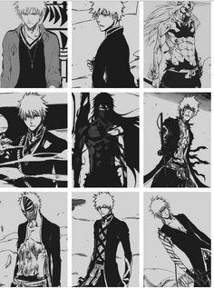 Kurosaki Ichigo the power levels. Bleach manga                                                                                                                                                                                 More