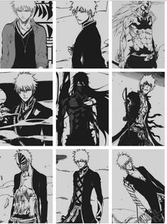 Kurosaki Ichigo the power levels. Bleach manga
