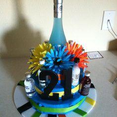 Ashlyn's 21st birthday cake:)