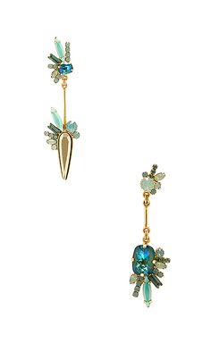 Shop for Elizabeth Cole Mismatched Drop Earring in Seafoam at REVOLVE. Free 2-3 day shipping and returns, 30 day price match guarantee.